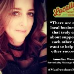 Annelise Werme, owner/operator of Serendipity Massage & Wellness
