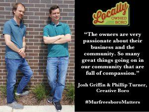 Josh Griffin & Phillip Turner of Creative Boro